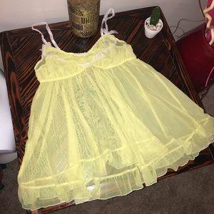 Victoria's secret yellow lingerie 💝